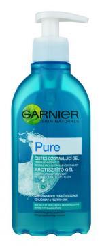 Очищающий мицелярный гель для умывания Garnier Pure